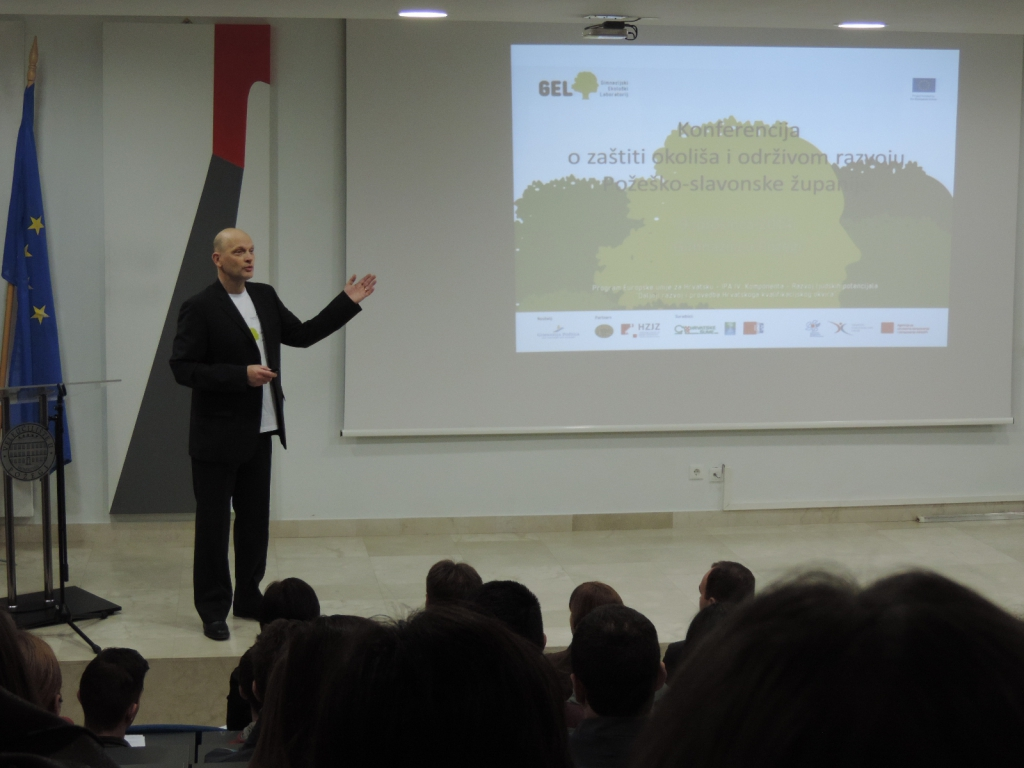 Ivo Žanetić, voditelj projekta: Uvodno predstavljanje projekta GEL i programa Konferencije (2).
